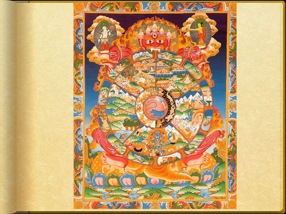  Tibetan Buddhists believe that everything that is experienced really only happens inside your head.