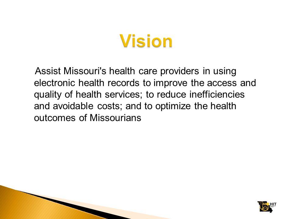 Ryan Krull, MPH rkrull@mo-pca.org Missouri Primary Care Association 3325 Emerald Lane Jefferson City, MO 65109-6879 (573) 636-4222 www.mo-pca.org