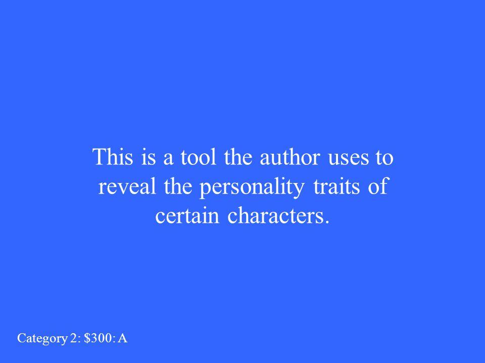 Author Category 2: $200: Q