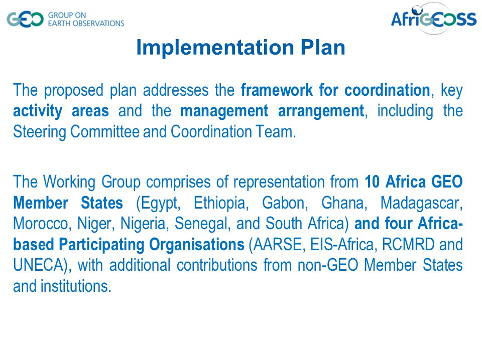 The coordination framework is proposed to address geographical representation, political representation and functional (activity) areas.