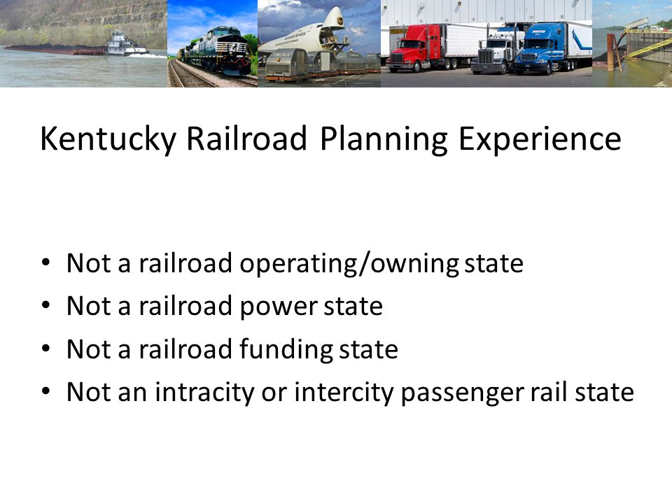 Not a railroad operating/owning state