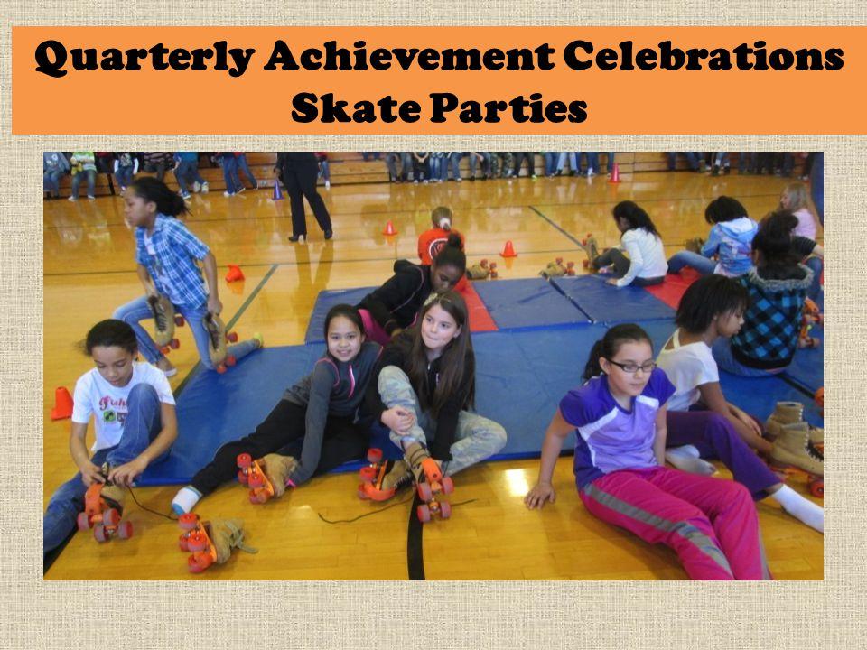 Quarterly Achievement Celebrations Skate Parties