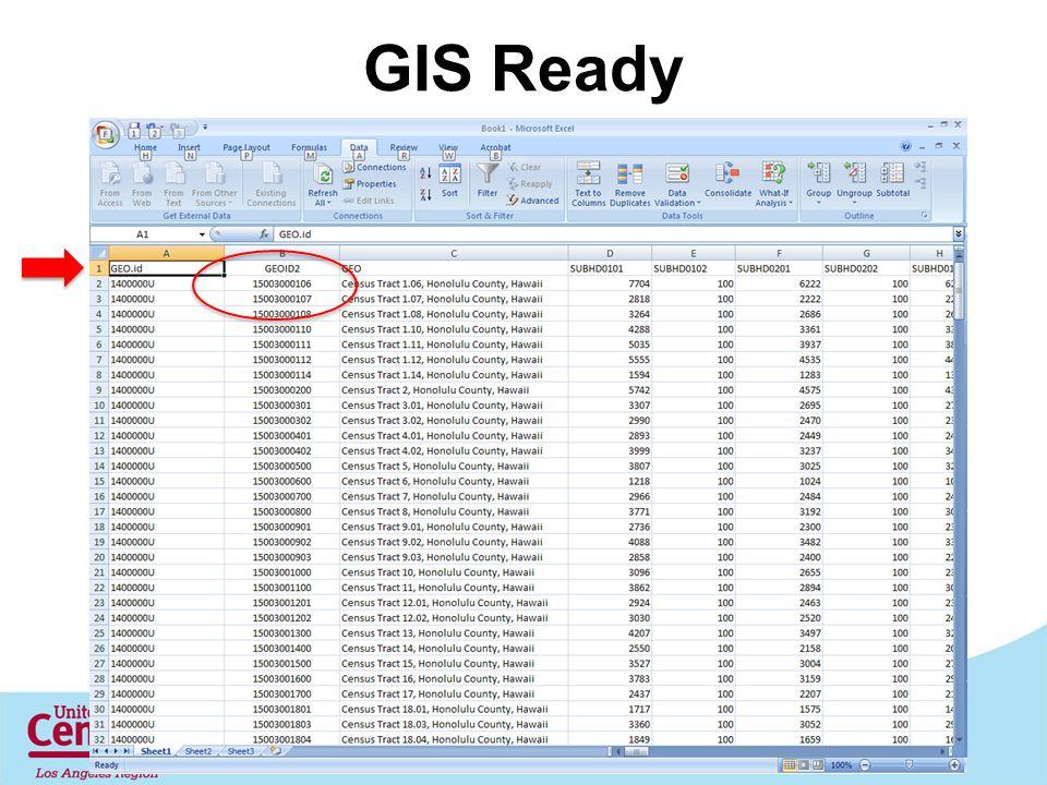 GIS Ready