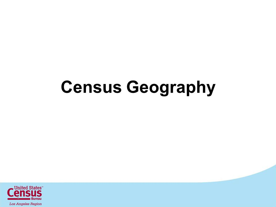 Census Geography 4