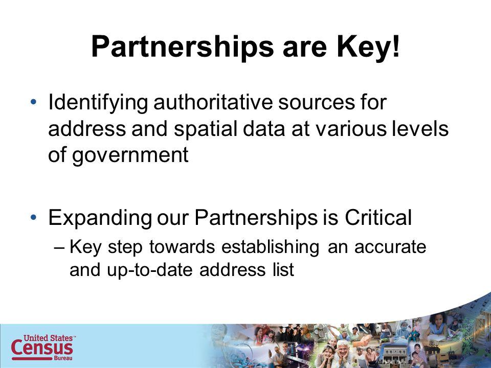 Partnerships are Key.