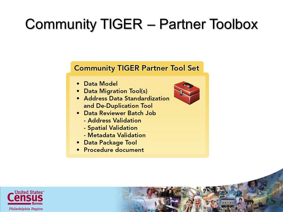 Community TIGER – Partner Toolbox