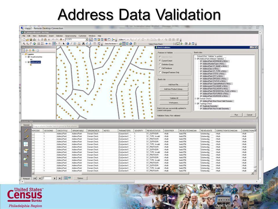 Address Data Validation