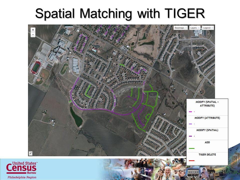 Spatial Matching with TIGER 21