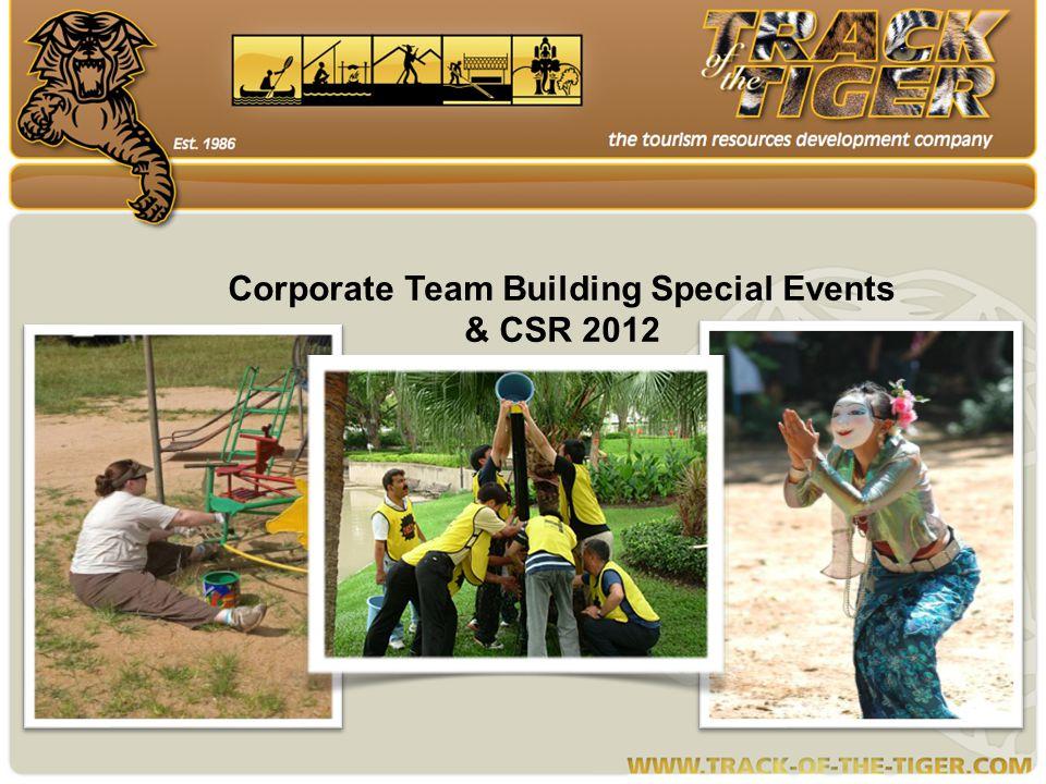 Corporate Team Building Special Events & CSR 2012