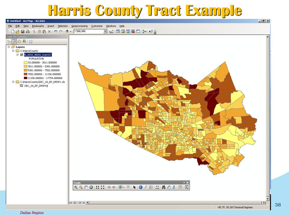 38 Harris County Tract Example