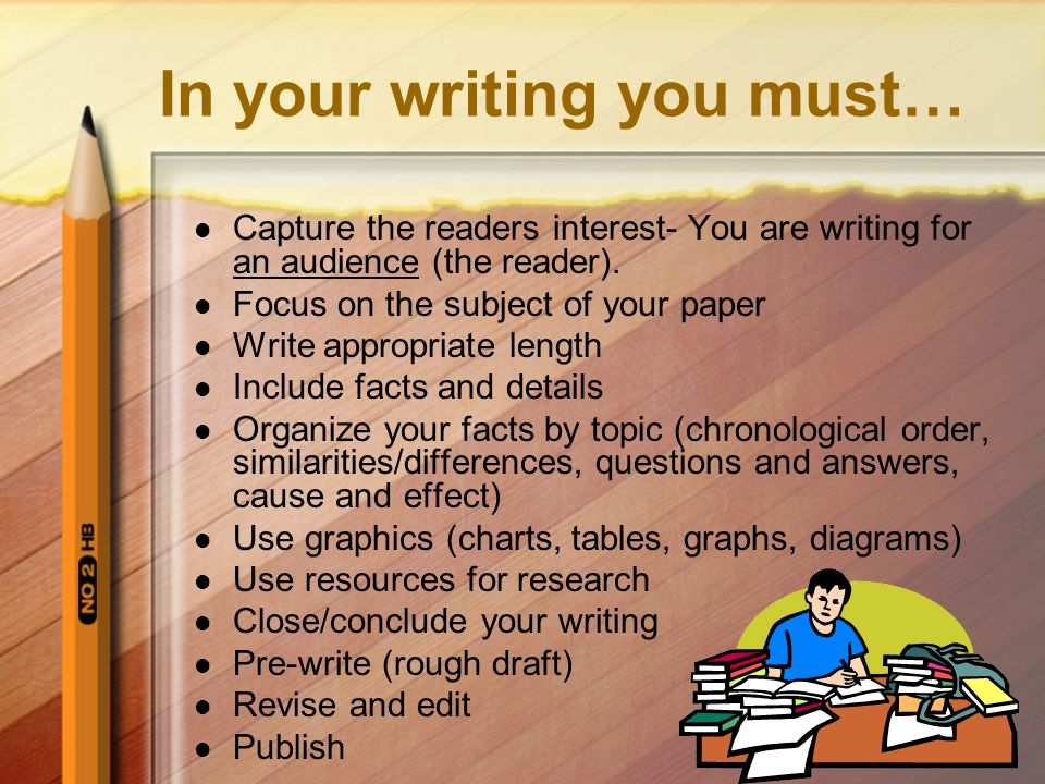 Now what.Go back and review your paper. Revise and edit.