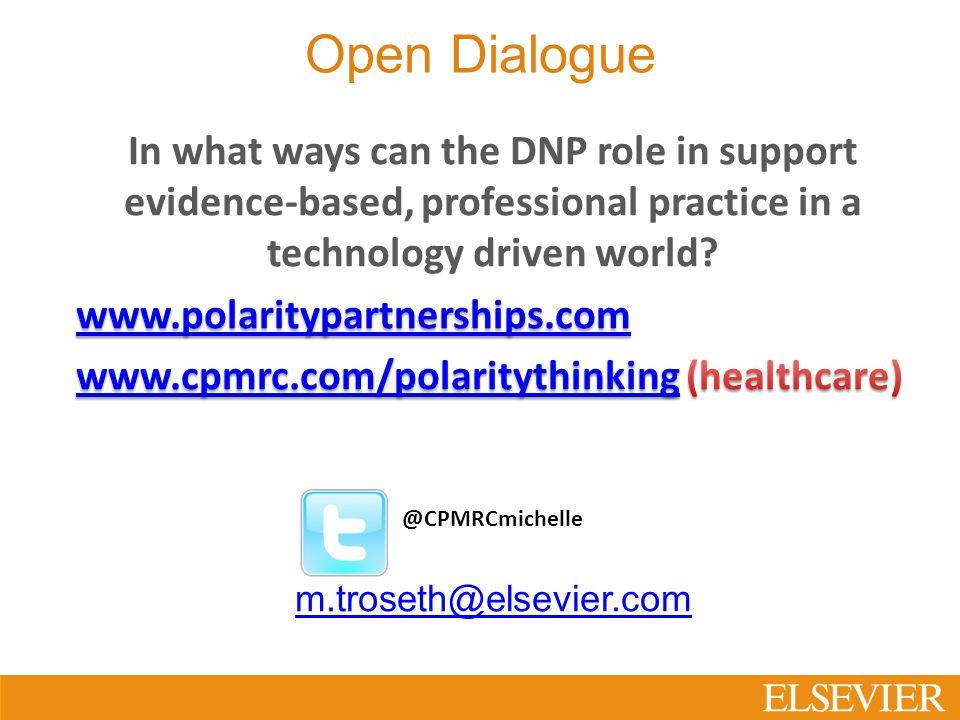 Open Dialogue @CPMRCmichelle