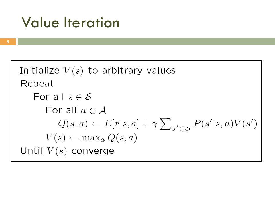Value Iteration 9