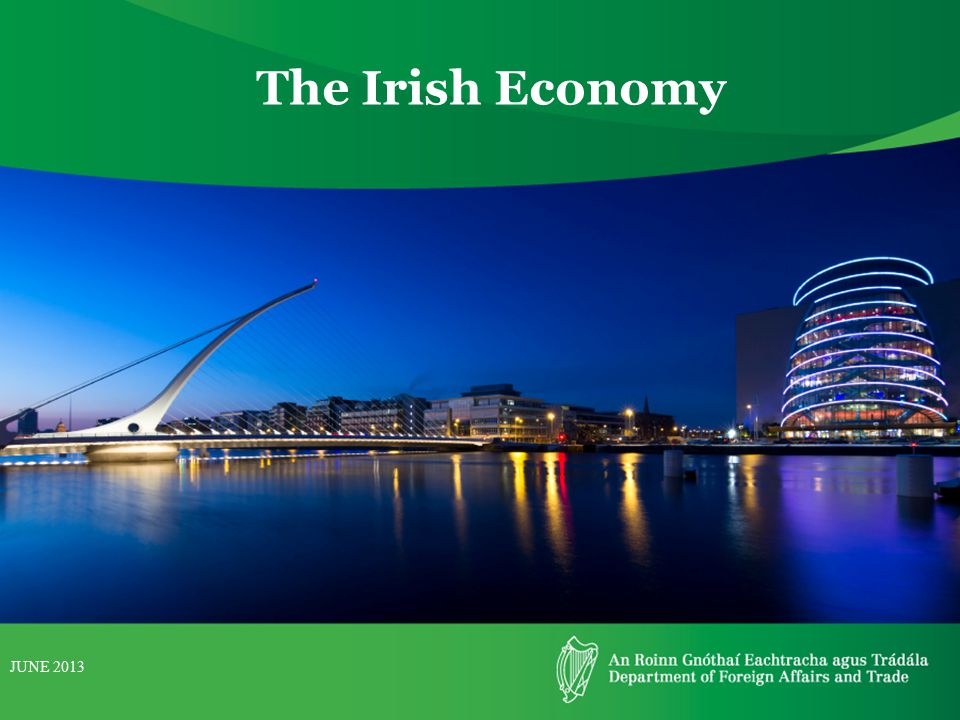 The Irish Economy JUNE 2013