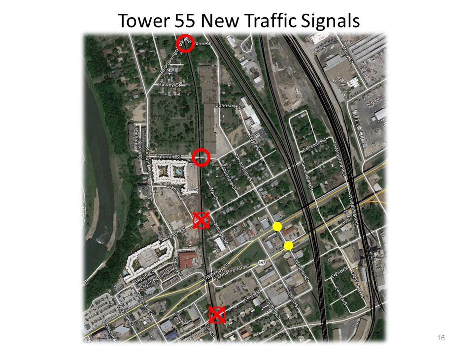 Tower 55 New Traffic Signals 16