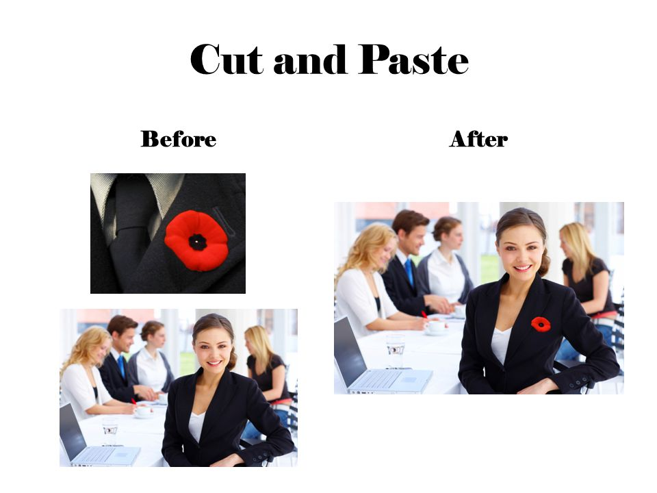 Cut and Paste BeforeAfter