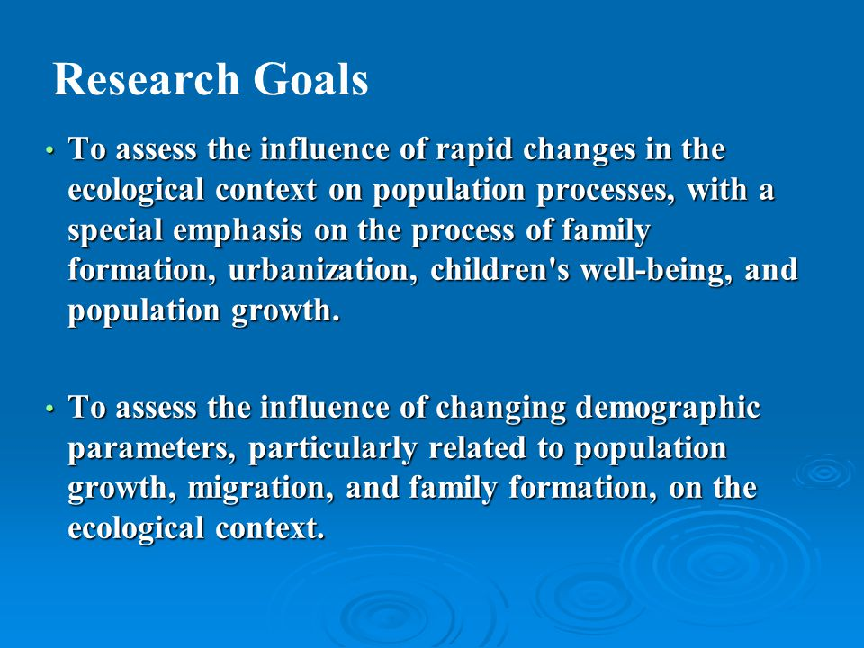To train Nepali social scientists in state-of-the-art social and environmental science research methods.