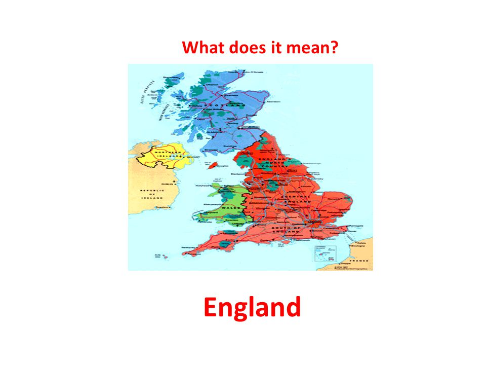 1-я g =nh=l What does it mean? England