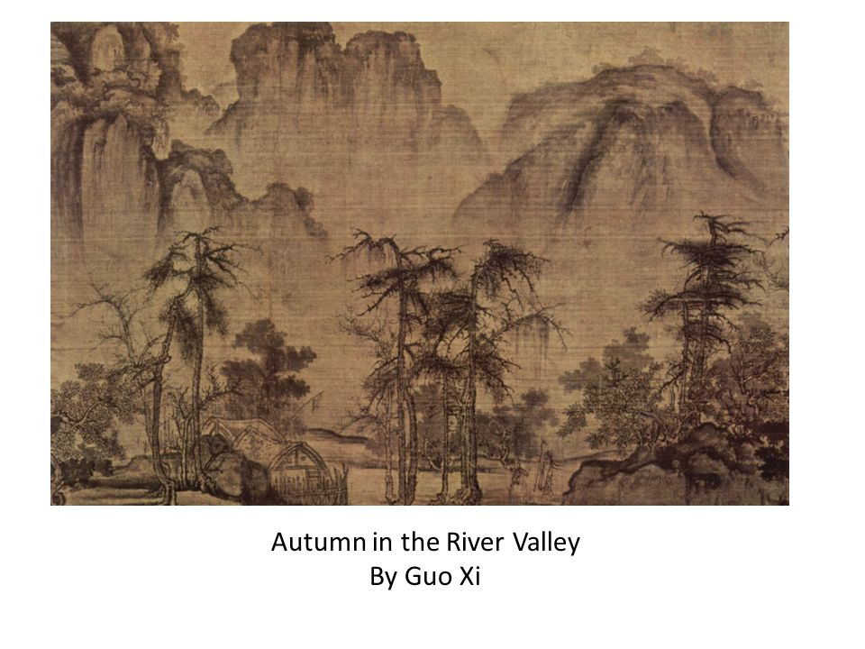 Autumn in the River Valley By Guo Xi