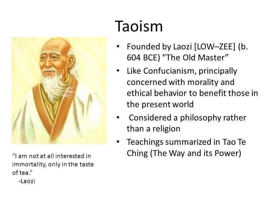 Confucianism & Taoism Confucianism represents the classical; Taoism represents the romantic Confucianism stresses social responsibility; Taoism stresses responsibility towards nature Confucianism emphasizes humans; Taoism emphasizes nature Confucianism is practical; Taoism is mystical Cebu Taoist Temple, Beverly Hills, Cebu City, Philippines