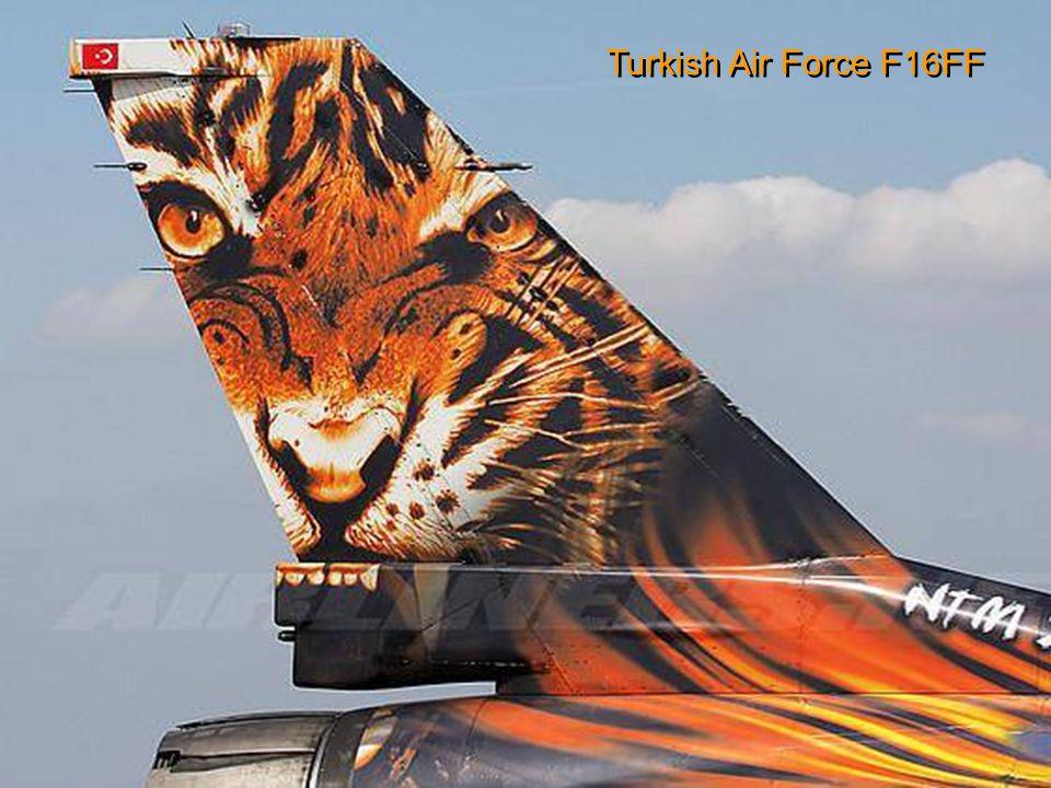 Turkish Air Force Fokker F-16