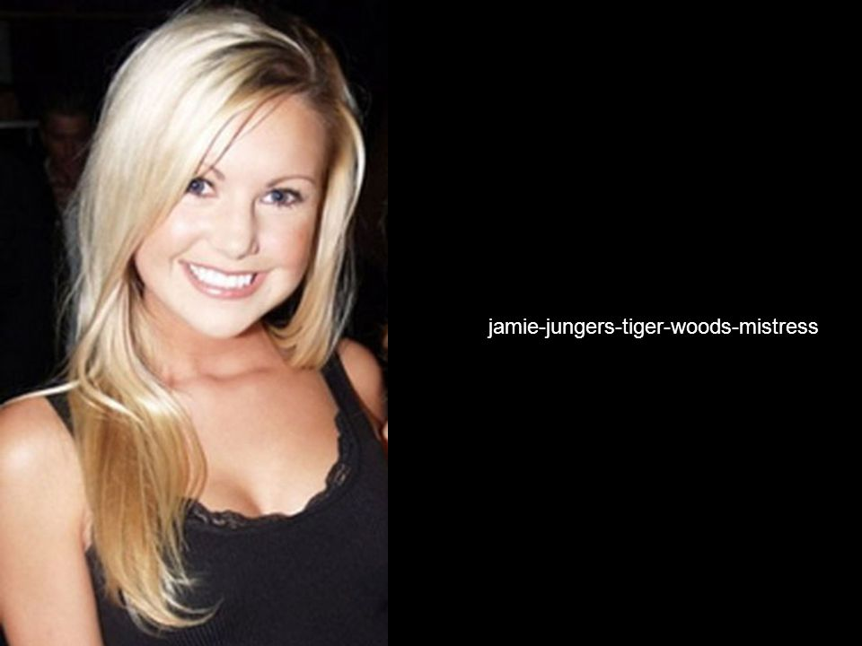 Photo of Tiger Woods Fourth Mistress jamie-jungers-tiger