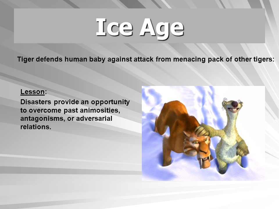 Ice Age Lesson: Altruism—even in the face of personal risk—is common in disasters.
