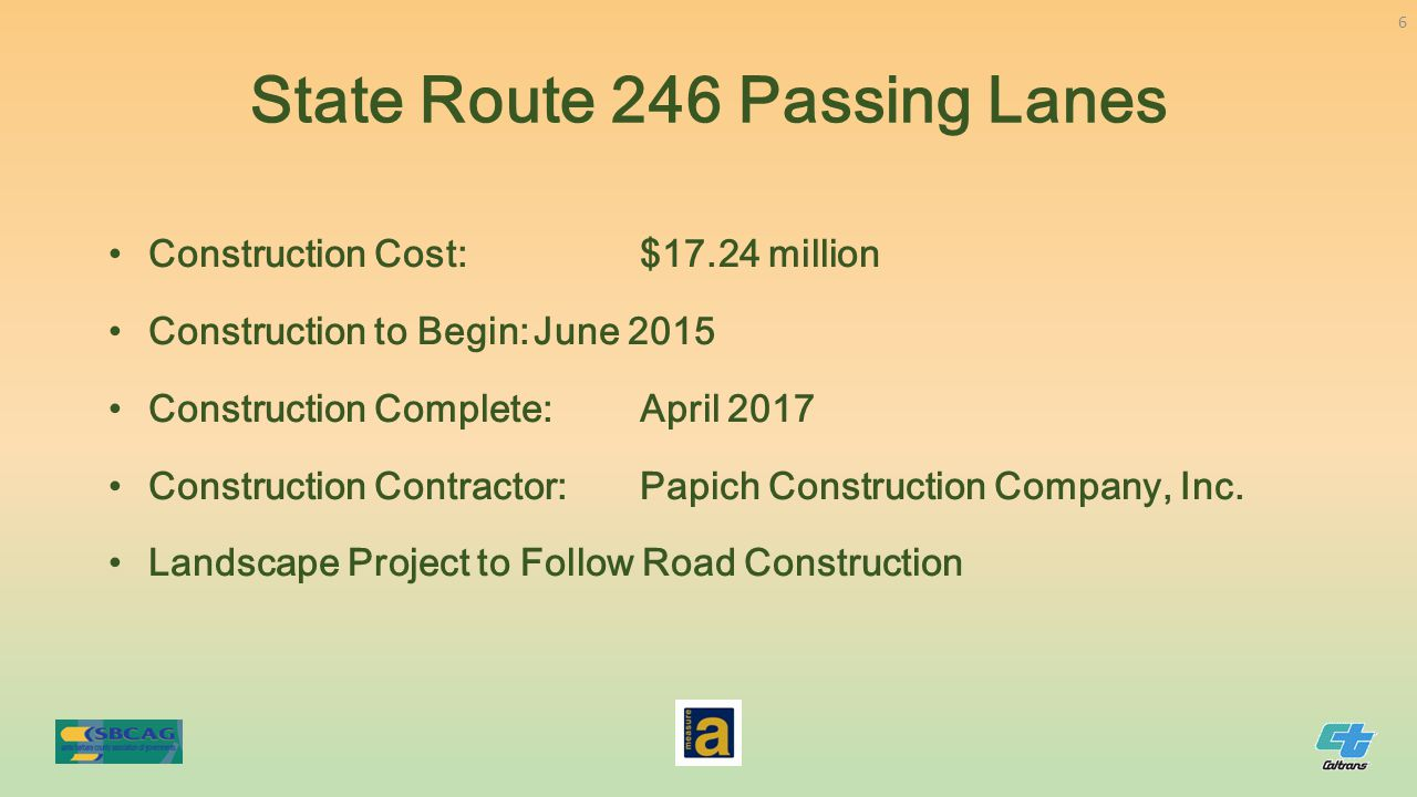 Construction Cost:$17.24 million Construction to Begin:June 2015 Construction Complete:April 2017 Construction Contractor:Papich Construction Company,