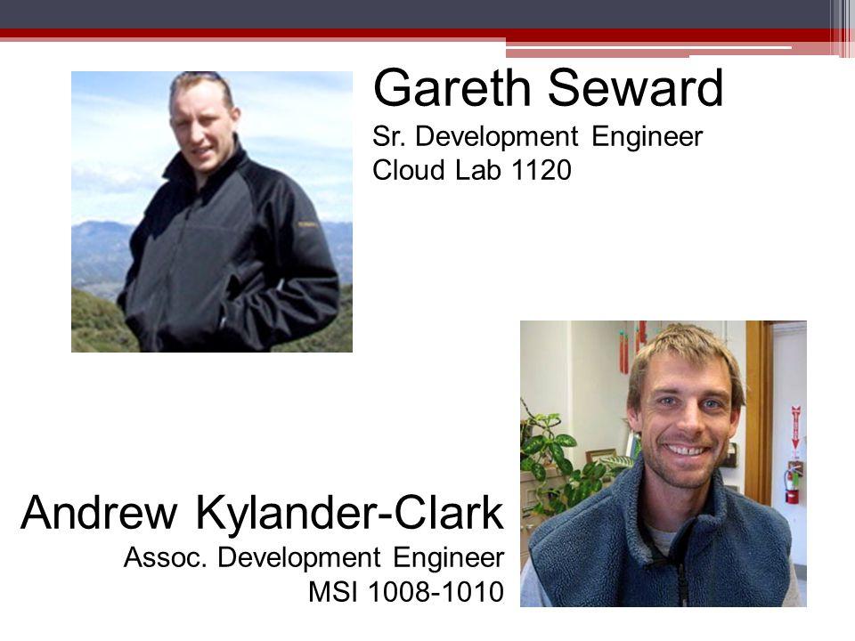 Chris Livsey Principal Lab Mechanician Webb 1054 Tim Cuellar Field Equipment Manager Webb 1054