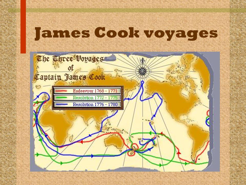 James Cook voyages