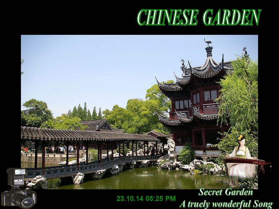 The Lion Grove Garden in Suzhou (1342), known for its fantastic and grotesque rocks