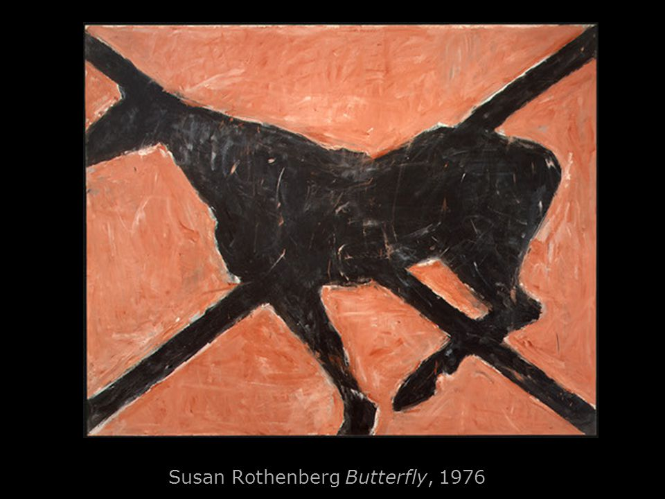 Susan Rothenberg Butterfly, 1976