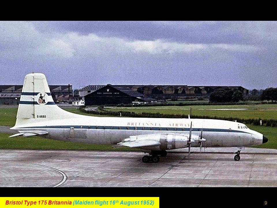 8 Fokker F27 Friendship (Maiden flight 24 th November 1955)