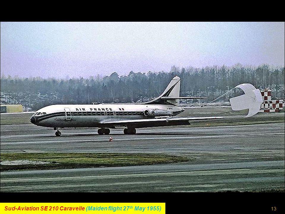 12 McDonnell-Douglas DC-10 (Maiden flight 29 th August 1970