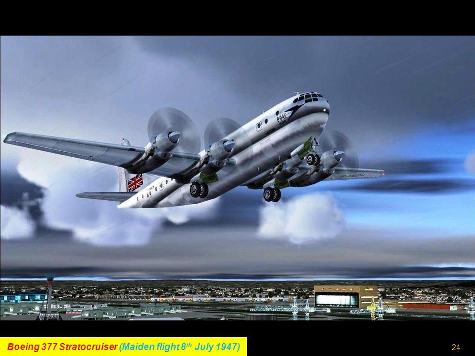 23 Douglas DC-7 (Maiden flight 18 th May 1953)