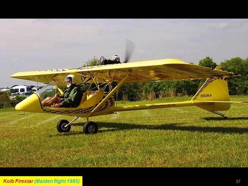 36 Taylor J.T.1 Monoplane (Maiden flight 4 th July 1959)