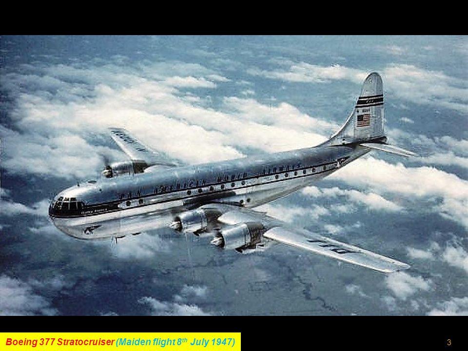 2 Lockheed L-1049 Super Constellation (Maiden flight 14 th July 1951)