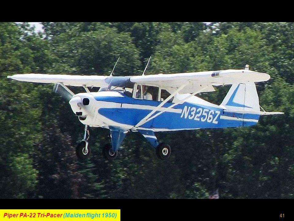 40 Avions-Pierre-Robin DR.200 (Maiden flight 1964)