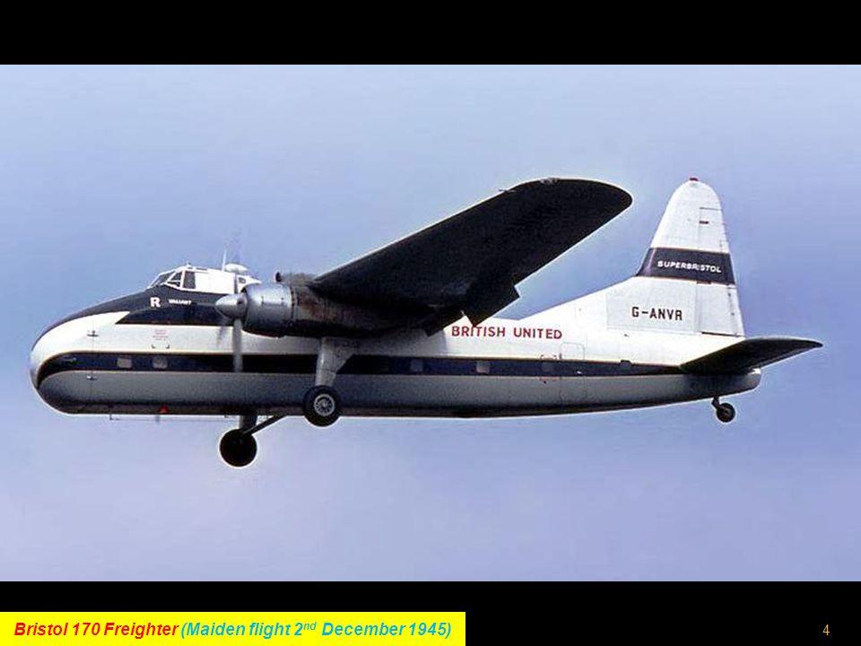 3 Boeing 377 Stratocruiser (Maiden flight 8 th July 1947)