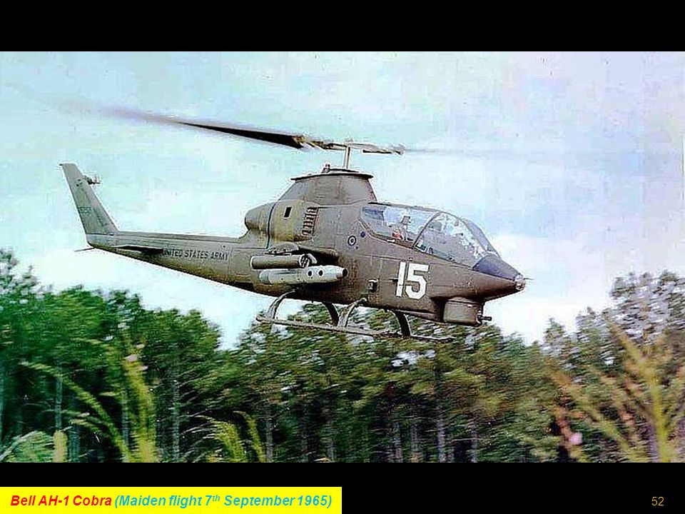 51 Mil-Helicopters V-12 (Maiden flight 10 th July 1968)