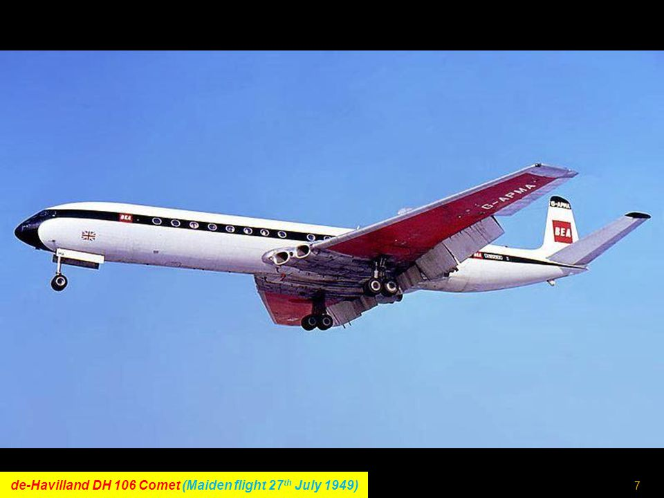 6 Convair CV-990 Coronado (Maiden flight 24 th January 1961)