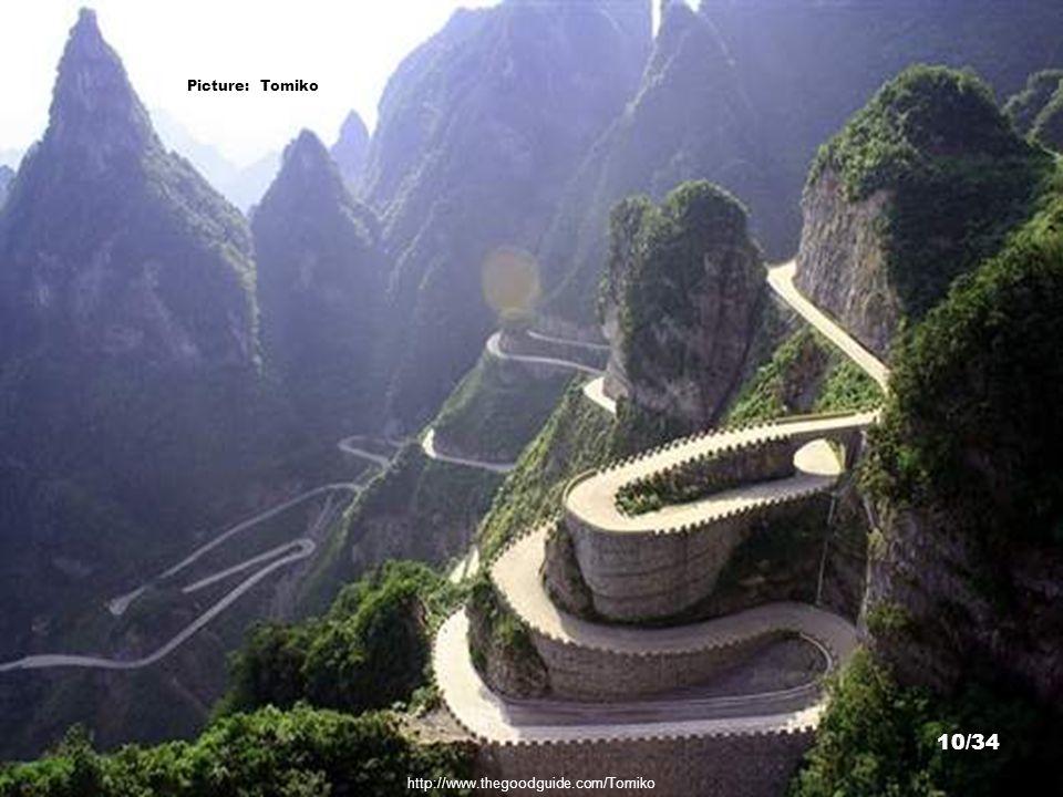 http://commons.wikimedia.org/wiki/File:Tian_Menshan_Mountain_10.jpg Picture: huangdan2060 9/34