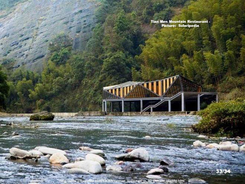 http://www.archdaily.com/145283/tianmen-mountain-restaurant-liu-chongxiao/0010-5/ Tian Men Mountain Restaurant - Picture: Liu Chongxiao 32/34