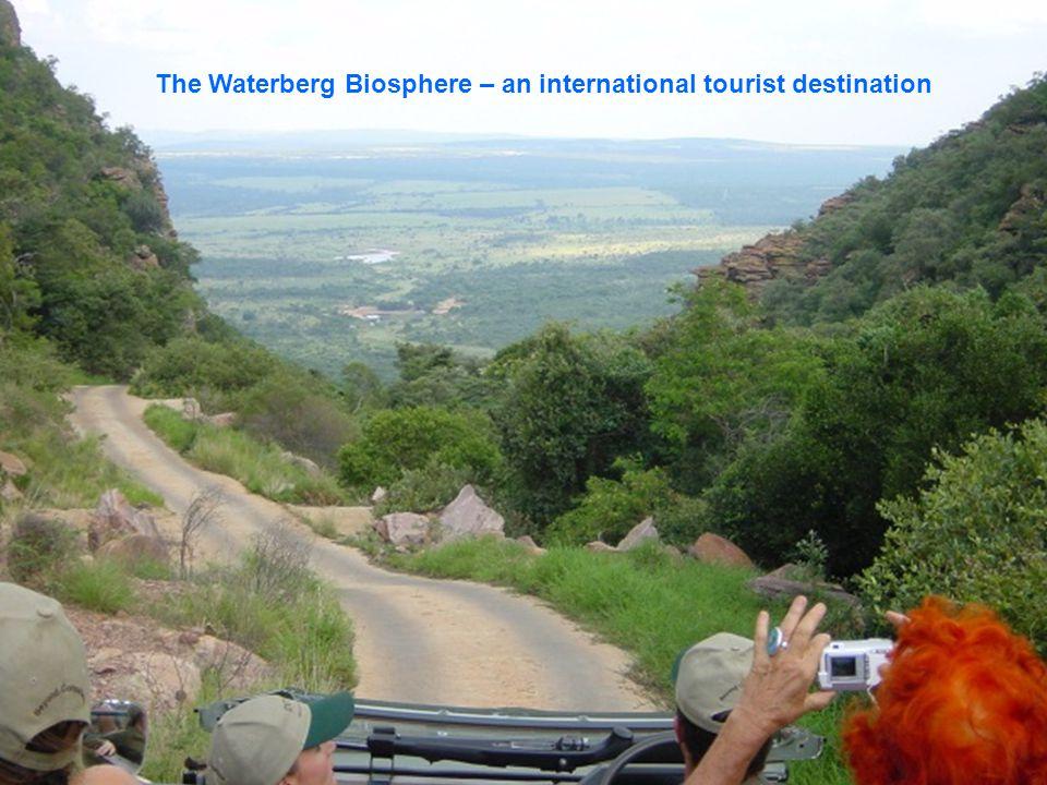 The Waterberg Biosphere – an international tourist destination