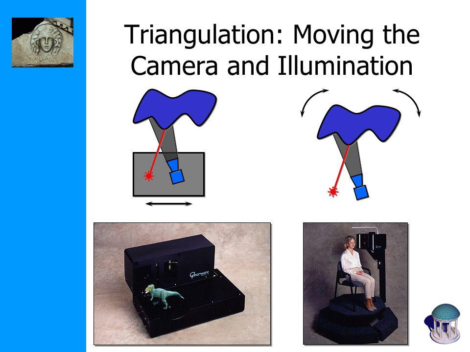 Triangulation: Moving the Camera and Illumination