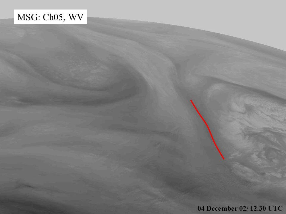 15 WV 6.2 04 December 02/ 12.30 UTC MSG: Ch05, WV