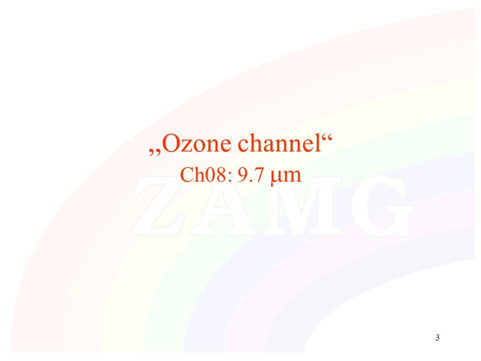 """3 """" Ozone channel Ch08: 9.7  m"""