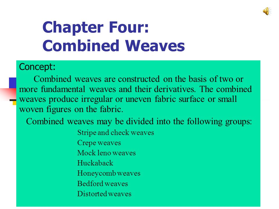 The elementary warp repeat in this stripe is 4.The number of threads P Ob = 21.4×1.5 = 32.1.