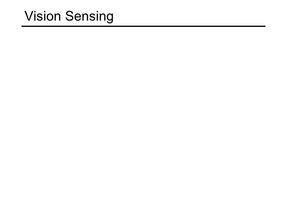Vision Sensing
