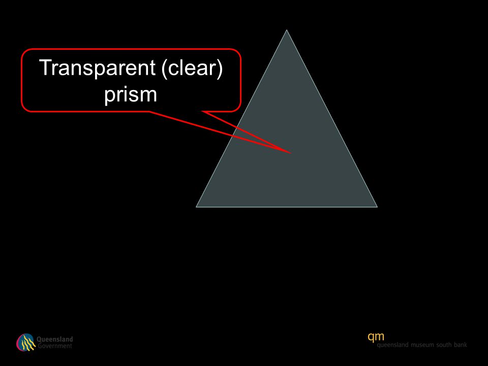 Transparent (clear) prism